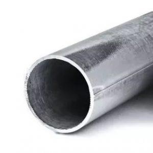 Труба сталь электросварная прямошовная оц Дн 57х3,0 (Ду 50) ГОСТ 10704-91 цена за м.