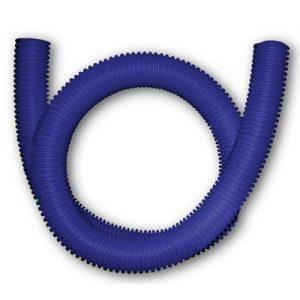 Шланг гофрированный для PE-X Дн 25 для трубы Дн 16 синий бухта 50м с зондом РОС