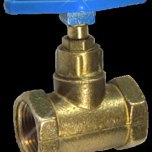 Клапан запорный латунь 15б3р Ду 15 Ру16 ВР прямой ТУ 206-3973235-01-93 Цветлит