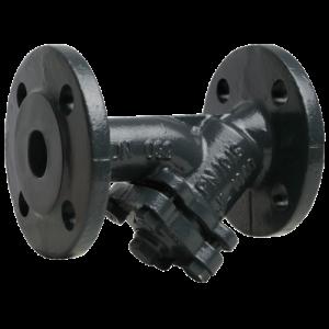 Фильтр сетчатый Y-образный чугун Ду 15 Ру16 фл FVF со сливной пробкой Danfoss 065B7740