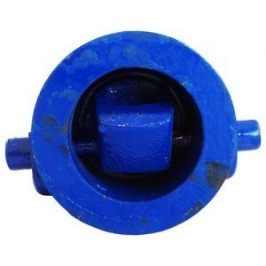 Клапан обратный поворотный чугун 19ч01бр Ду 50 Ру16 Тмакс=225 оС межфл УЭ-148