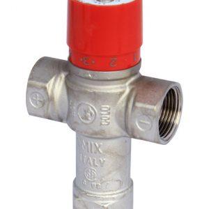 """Клапан смесительный термостатический седельный латунь R156 Ду 20 Ру16 G3/4"""" ВР Kvs=2 60С Giacomini R156X004"""