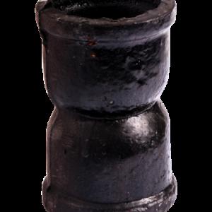 Муфта чугун канализационная Ду 50 б/н ГОСТ 6942-98 прямой