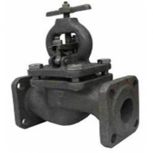 Клапан запорный чугун 15кч16нж Ду 32 Ру25 Тмакс=300 оС фл со штурвалом .
