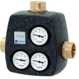"""Клапан смесительный термостатический седельный чугун VTC531 Ду 32 Ру10 Rp1 1/4"""" ВР Kvs=8 60С Esbe 51026200"""