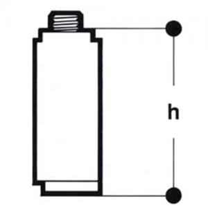 Удлинитель штока для крана Ду 15 Giacomini R749TX101