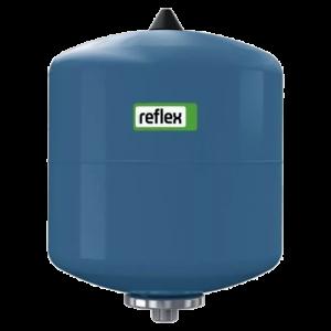 Гидроаккумулятор Refix DE 8л 16атм вертикальный Reflex 7301006