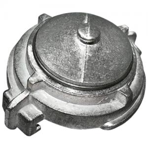 Головка-заглушка всасывающая 100 мм ГЗВ-100 алюминий