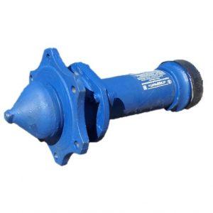 Гидрант пожарный подземный чугун 500 мм Ру10 синий