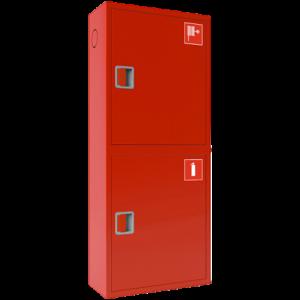 Шкаф пожарный красный ШПК-320 НЗК правый