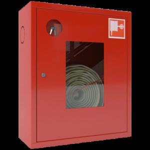 Шкаф пожарный красный ШПК-310 НОК левый