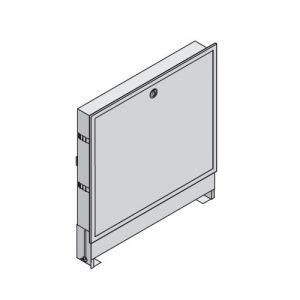 Шкаф коллекторный встраеваемый сталь Vario PT 565х820-910х120-180мм Uponor 1046991