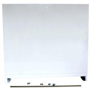 Шкаф коллекторный наружный сталь ШРН-1 455х652-715х119мм Wester