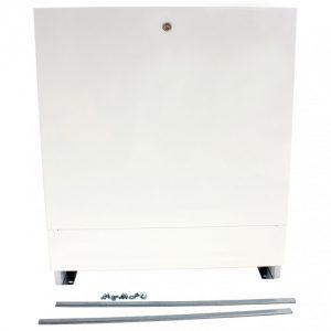 Шкаф коллекторный встраеваемый сталь ШРВ-2 598х671-734х121-181мм Wester