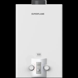 Водонагреватель газовый проточный SuperFlame SF0320 10L лужёный Тульский ЗГО
